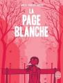 Couverture La Page blanche Editions Delcourt 2012