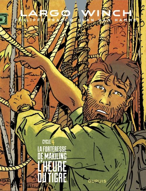 Couverture Largo Winch, double, tomes 07 et 08 : La Forteresse de Makiking, L'Heure du Tigre