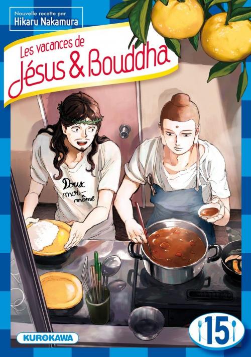 Couverture Les vacances de Jésus & Bouddha, tome 15