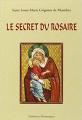 Couverture Le Secret Admirable du Très Saint Rosaire Editions La Librairie de l'inconnu 2005