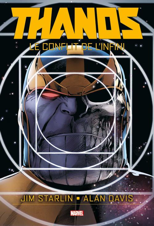 Couverture Thanos : Le Conflit de l'Infini