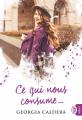 Couverture Ce qui ne te tue pas..., tome 2 : Ce qui nous consume Editions J'ai Lu 2019