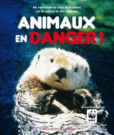 Couverture Animaux en danger !