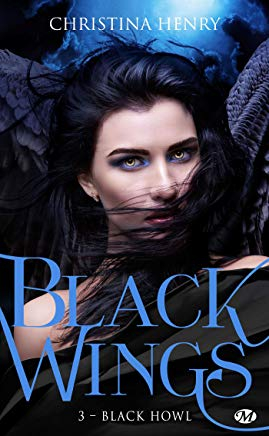 Couverture Black wings, tome 3 : Black howl
