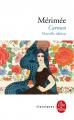Couverture Carmen (roman) Editions Le Livre de Poche (Classiques) 2019