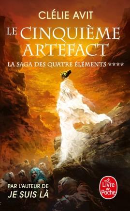 Couverture Les messagers des vents / La saga des quatre éléments, tome 4 : Le cinquième artefact