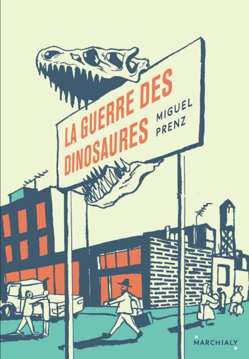 Couverture La guerre des dinosaures