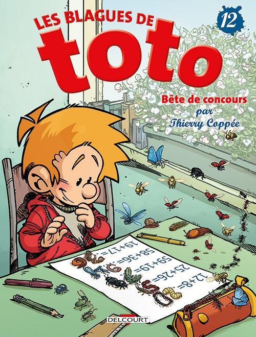 Couverture Les blagues de Toto, tome 12 : Bête de concours