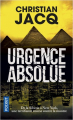 Couverture Urgence absolue Editions Pocket 2019