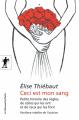 Couverture Ceci est mon sang Editions La découverte (Poche) 2019