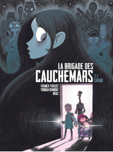 Couverture La brigade des cauchemars, tome 1 : Sarah