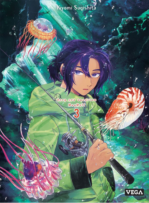 Couverture Deep sea aquarium Magmell, tome 3