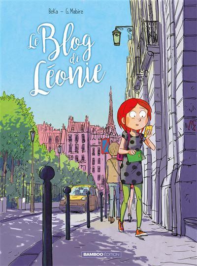 Couverture Le blog de Léonie