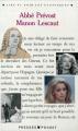 Couverture Histoire du chevalier Des Grieux et de Manon Lescaut / Manon Lescaut Editions Presses pocket (Lire et voir les classiques) 1990