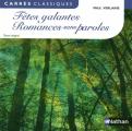 Couverture Fêtes galantes et autres poèmes, écrits sur Rimbaud Editions Nathan (Carrés classiques) 2012