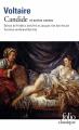 Couverture Candide et autres contes Editions Folio  (Classique) 1995