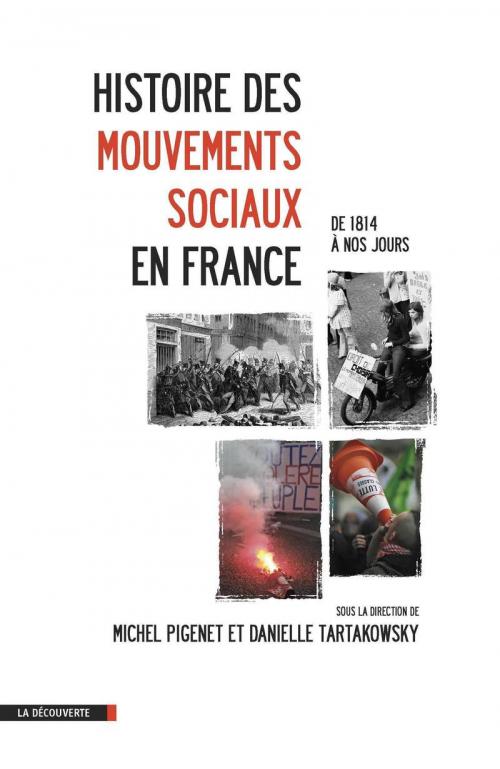 Couverture Histoire des mouvements sociaux en France