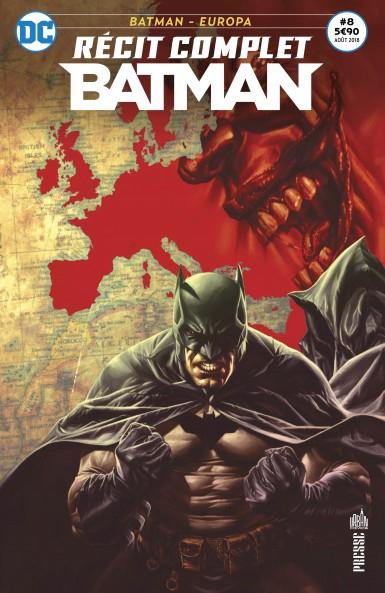 Couverture Batman : Europa