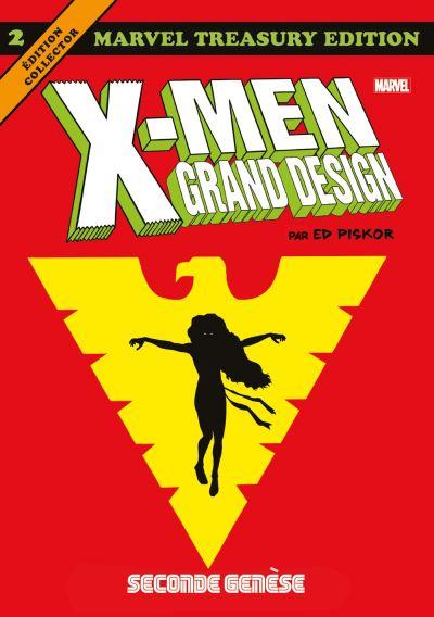 Couverture X-Men - Grand design, tome 2 : Seconde genèse