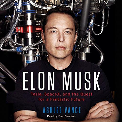 Couverture Elon Musk