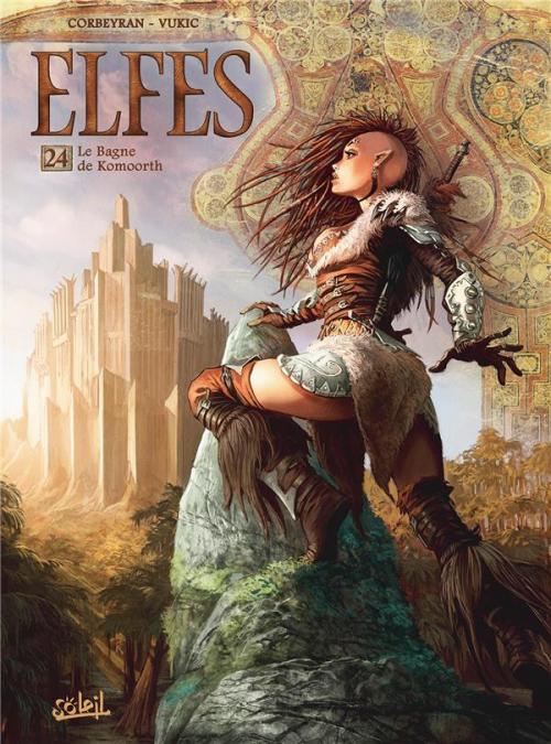 Couverture Elfes, tome 24 : Le Bagne de Komoorth