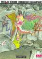 Couverture La dérisoire effervescence des comprimés Editions Casterman (Studio (A suivre)) 1991