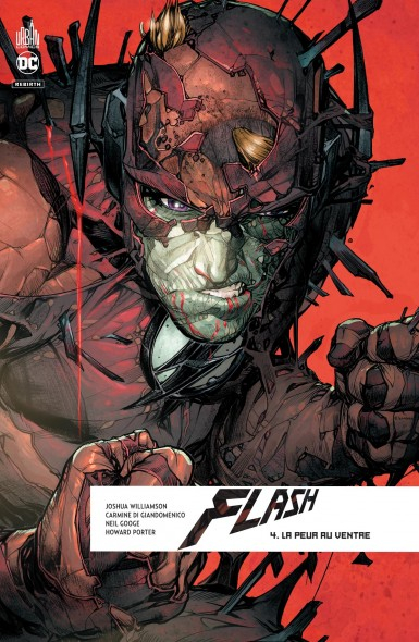Couverture Flash Rebirth, tome 4 : La Peur au ventre