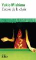 Couverture L'école de la chair Editions Folio  1995
