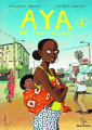 Couverture Aya de Yopougon, tome 2 Editions Gallimard  2013