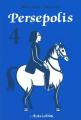 Couverture Persepolis, tome 4 Editions L'Association 2003