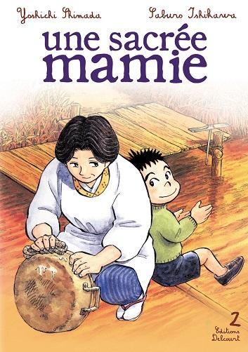 Couverture Une sacrée mamie, tome 02