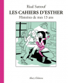 Couverture Les cahiers d'Esther, tome 4 : Histoires de mes 13 ans Editions Allary 2019