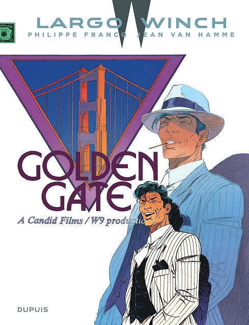 Couverture Largo Winch, tome 11 : Golden Gate