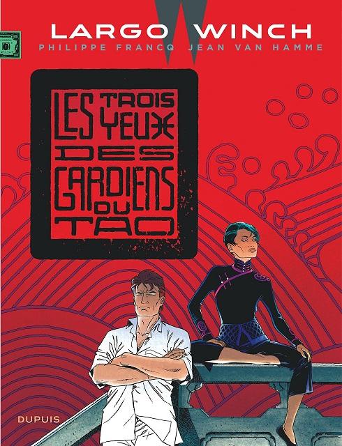 Couverture Largo Winch, tome 15 : Les Trois Yeux des Gardiens du Tao