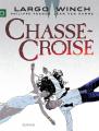 Couverture Largo Winch, tome 19 : Chassé-croisé Editions Dupuis 2014