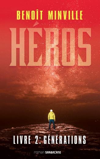 Couverture Héros, tome 2 : Générations