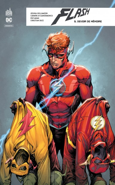 Couverture Flash Rebirth, tome 5 : Devoir de mémoire