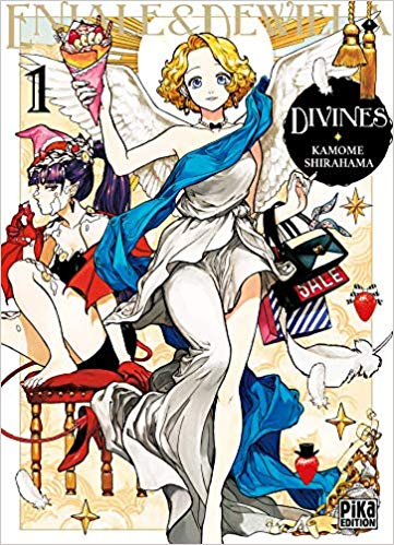 Couverture Divines, Tome 1 : Eniale & Dewiela