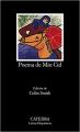Couverture Le Poème Du Cid Editions Catedra (Letras Hispánicas ) 2016