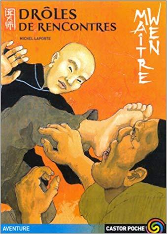 Couverture Maître Wen, tome 2 : Drôles de rencontres