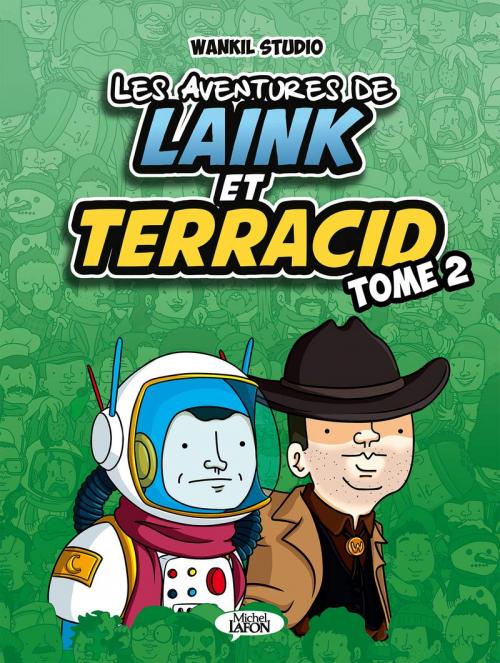 Couverture Les aventures de Laink et Terracid, tome 2