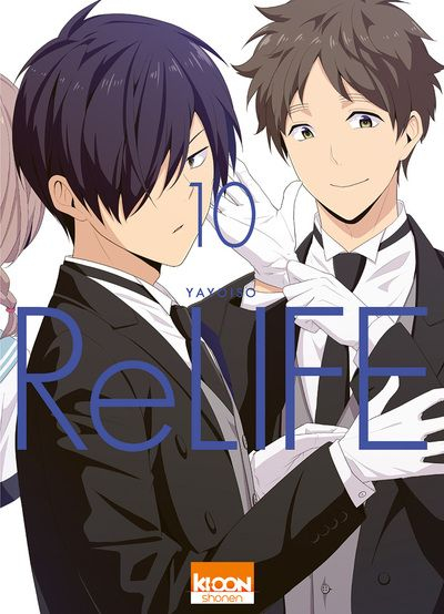 Couverture ReLIFE, tome 10