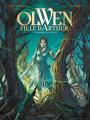 Couverture Olwen, fille d'Arthur, tome 1 : La demoiselle sauvage Editions Vents d'ouest 2019