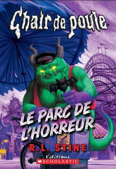 Couverture Une Journée à Horreurville / Le parc de l'horreur