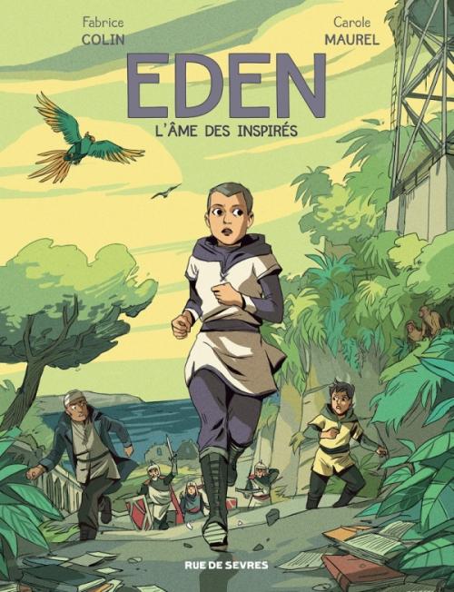 Couverture Eden, tome 2 : L'âme des inspirés