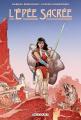 Couverture L'épée sacrée Editions Delcourt (Contrebande) 2019