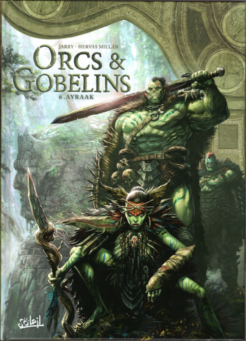 Couverture Orcs & Gobelins, tome 6 : Ayraak