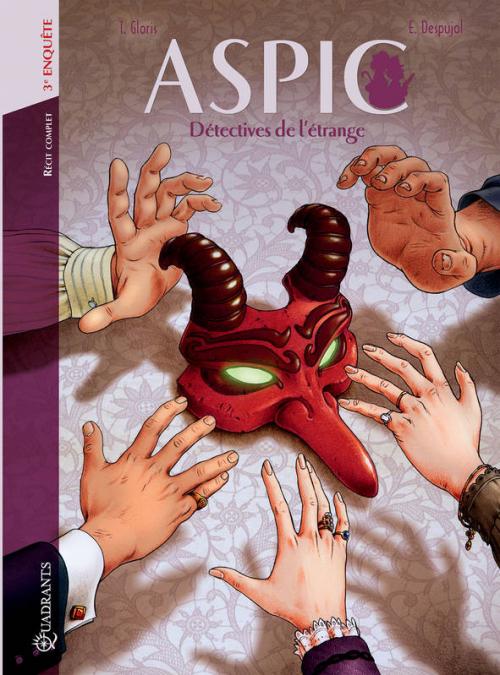 Couverture Aspic, Détectives de l'étrange, intégrale, tome 3 : Troisième enquête