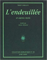 Couverture L'endeuillée et autres récits Editions José Corti 1993
