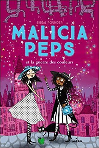 Couverture Malicia Peps, tome 3 : Malicia Peps et la guerre des couleurs